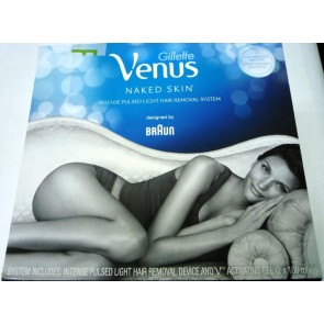 Gillette Venus Naked Skin Intense Pulsed Light Hair Reduction System
