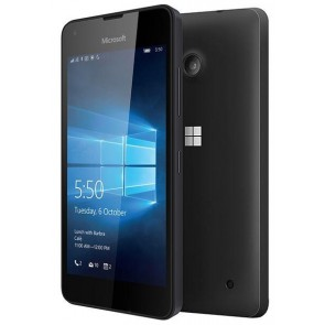 Microsoft Lumia 550 Black (Unlocked) - Very Good Condition
