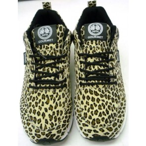 Gourmet NFN Womens The 35 Lite LP - Snow Leopard/White - UK Size 5