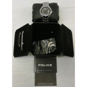 Police 'Outlaw' Gents Stainless Steel Bracelet Watch With Black Dial