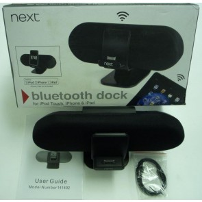Next Bluetooth Speaker Dock for iPod/iPhone/iPad - Box Damage Only