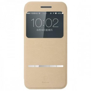 Smart Touch Slim Stand Case for Iphone 6 B-Khaki