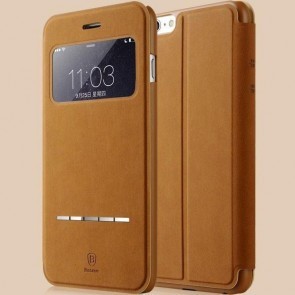 Smart Touch Slim Stand Case for Iphone 6 Brown