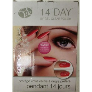 Rio 14 Day UV Gel Clear Polish - Unused Box Damage Only