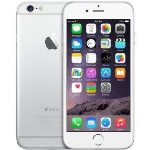 Apple iPhone 6 128GB Silver (Unlocked) - Reasonable Condition