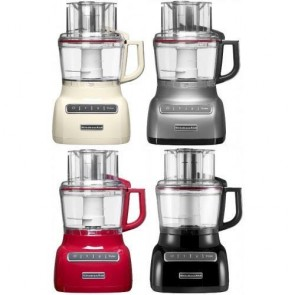 KitchenAid Grey Artisan Food Processor  - Missing 2-Piece Pusher