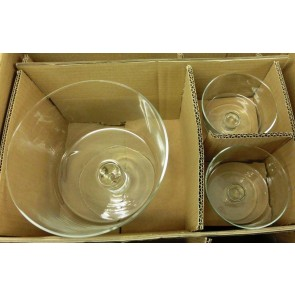 Next Glass Trifle 5 Piece Trifle Set Box Damage Only