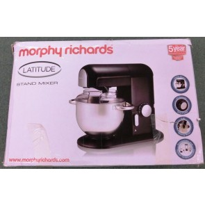 Morphy Richards Latitude Stand Mixer with Blender, Black - Good Condition