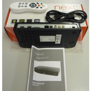 Internet TV System by Next - Unused - Box Damage Only