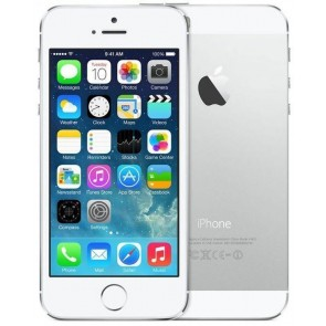 Apple iPhone 5S 32GB Silver (Unlocked) - Refurbished Grade A Condition