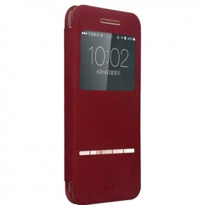 Smart Touch Slim Stand Case for Iphone 6 Wine Red