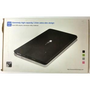 EC Technology 18000mAh Ultra Slim Dual-Port Power Bank External Battery Charger