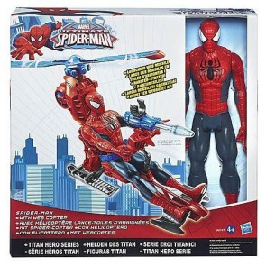 Hasbro Ultimate Spider-Man Action Figure with Web Copter